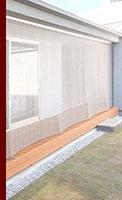 KOBE : 一般住宅 金網のカーテン : 外観写真