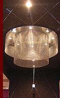 SAITAMA : パチンコ店 天井の金網シャンデリア : 外観写真